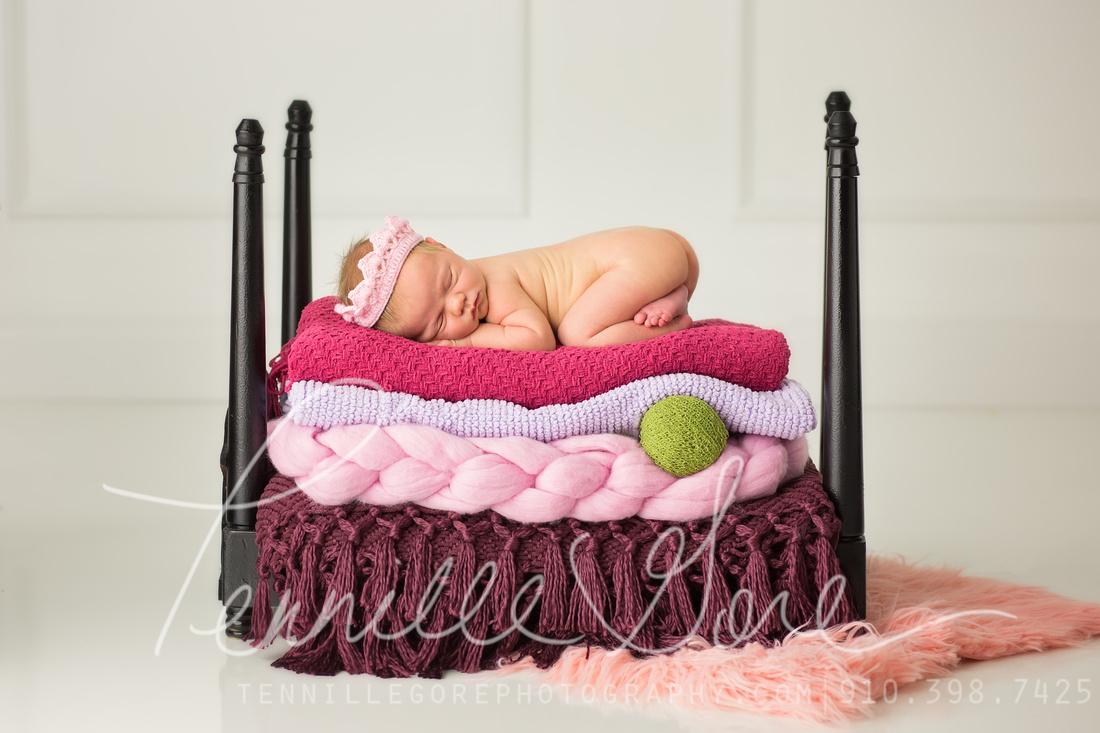 Hamlin Styled Studio Newborn- Wilmington NC Newborn Photographer