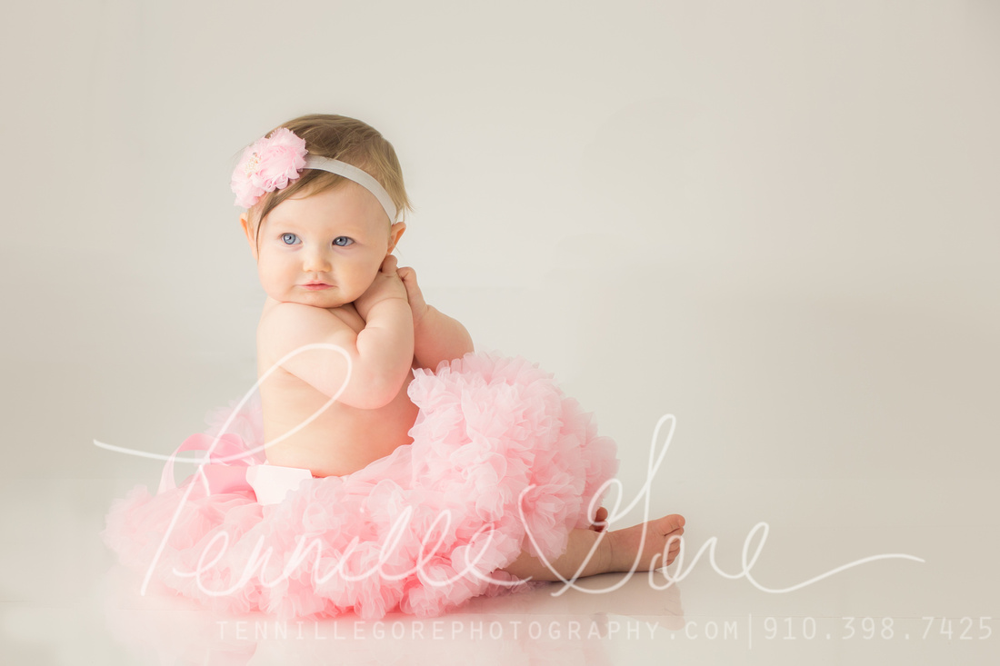 Finley is one! Wilmington NC Family Photographer