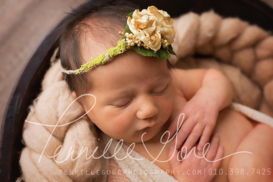 Lynch Newborn- Wilmington NC Newborn photographer