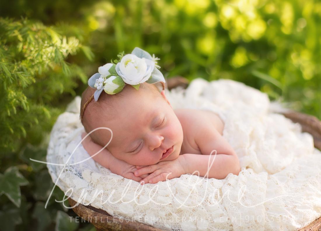 Bland Location Newborn- Wilmington NC Newborn Photographer
