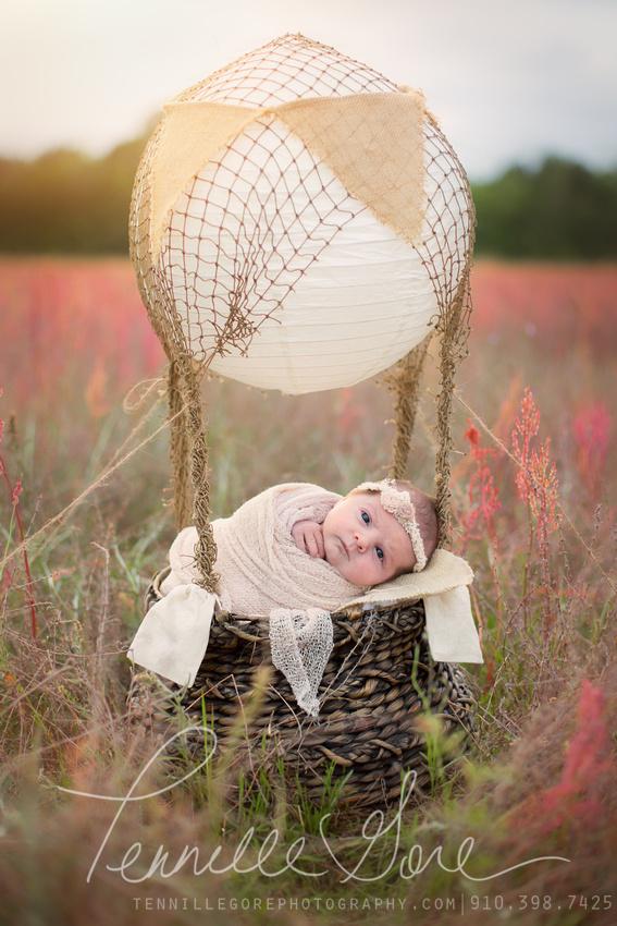 Kaltenbach Location Styled Newborn Session- Wilmington NC Newborn Photographer
